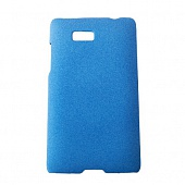 Чехол Drobak Shaggy Hard для HTC Desire 600 (Blue)
