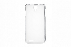 Чехол Drobak Elastic PU для Prestigio Multiphone 3501 (White Clear)