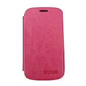 Чехол Drobak Book Style для Samsung Galaxy S III Mini NEO I8200 (Rose)