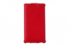 Чехол Vellini Lux-flip для Sony Xperia C C2305 (Red)