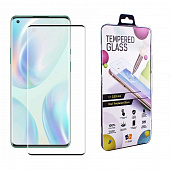 Защитное стекло Drobak для OnePlus 8 Lite Full Cover Full Glue (Black) (222220)