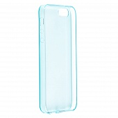 Накладка Drobak Ultra PU для Apple iPhone 5/5S/SE (sky blue)