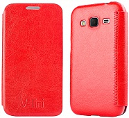 Чехол Vellini Book Style для Samsung Galaxy Core Prime SM-G360H (Red)