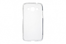 Чехол Drobak Elastic PU для Samsung Galaxy Core Prime SM-G360H (White Clear)