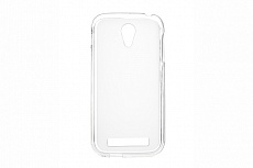 Чехол Drobak Elastic PU для Fly IQ4404 Spark (White Clear)