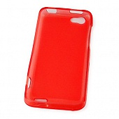 Чехол Drobak Elastic Rubber для HTC One V T320e (Red)
