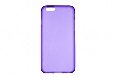 Накладка Drobak Elastic PU для Apple Iphone 6/6S (Violet Clear)