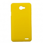 Чехол Drobak Elastic PU для Fly IQ4403 (Yellow)