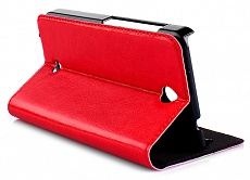 Чехол-книжка Drobak Book Stand для Microsoft Lumia 430 DS (Nokia) (Red)