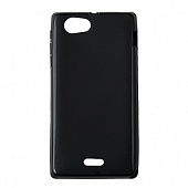 Чехол Drobak Elastic PU для Sony Xperia J (Black)