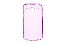 Чехол Drobak Elastic PU для Samsung Galaxy Core I8262 (Pink Clear)
