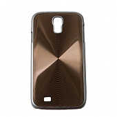 Чехол Drobak Aluminium Panel для Samsung Galaxy SIV I9500 (Brown)