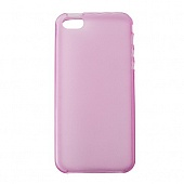 Чехол Drobak Elastic PU для Apple Iphone 5 (Pink)
