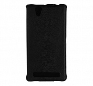 Чехол Vellini Lux-flip для Sony Xperia T2 (Black)