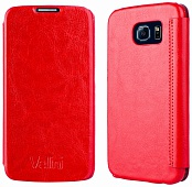 Чехол-книжка Vellini Book Style для Samsung Galaxy S6 SS (Red)
