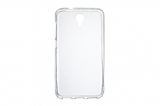 Чехол Drobak Elastic PU для Alcatel Idol 2 (White Clear)