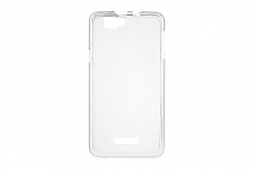 Чехол Drobak Elastic PU для Explay Fresh (White Clear)