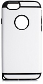 Накладка Drobak Anti-Shock NEW для Apple Iphone 6/6S (White)