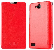 Чехол Vellini Book Style для Huawei Honor 3C (Red)