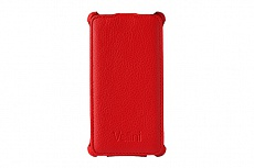 Чехол-флип Vellini Lux-flip для Sony Xperia M2 Dual D2302 (Red)