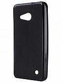 Накладка Drobak Elastic PU для Microsoft Lumia 550 DS (Nokia) (Black)