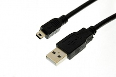 Кабель Drobak USB 2.0 AM–Mini USB Тип B 1,5м