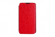 Чехол Drobak Book Style для LG Optimus L70 Dual D325 (Red)