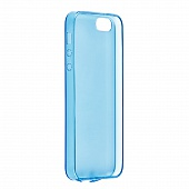 Накладка Drobak Ultra PU для Apple iPhone 5/5S/SE (Blue)