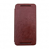 Чехол Drobak Book Style для HTC One 801e (M7) (Brown)
