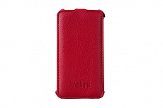 Чехол Vellini Lux-flip для Nokia Lumia 530 (Red)