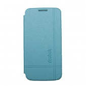 Чехол Drobak Simple Style для Samsung Galaxy S4 mini I9192 (Blue)