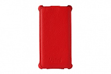 Чехол Vellini Lux-flip для Sony Xperia M2 D2305 (Red)